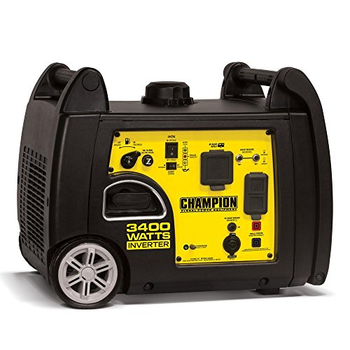 (Champion Power Equipment 100233 3400W Inverter Generator w/ Parallel Capability)