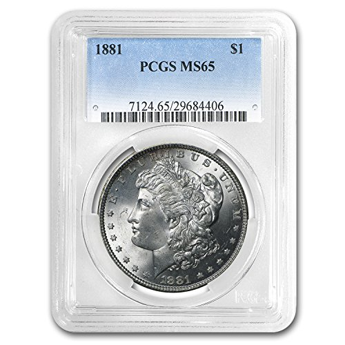 1881 Morgan Dollar MS-65 PCGS $1 MS-65 PCGS