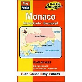 Plan de ville : Monaco - Monte-Carlo