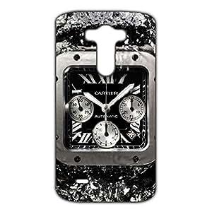 Cartier Watch Phone Case For LG G3 3D Hard Plastic Case