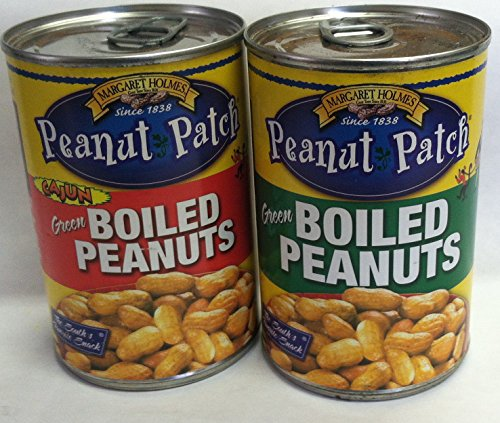 - Peanut Patch Green Boiled Peanuts and Cajun Green Boiled Peanuts and 1 Each -13.5 Floz. Cans