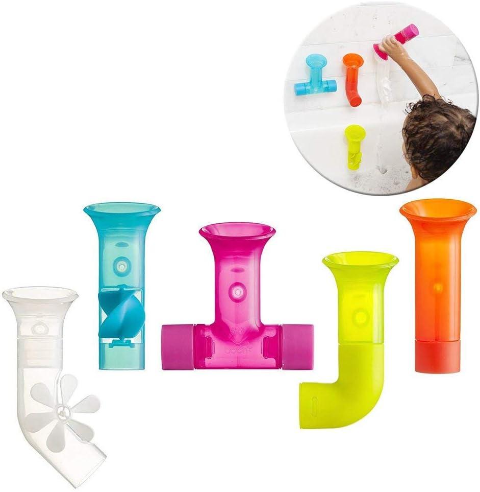 Boon - Tuberías de juguete para el baño, multicolor.