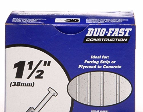 Duo-Fast Low Velocity Powder Fastners- 100-Count 1-1/2-in Drive Pins