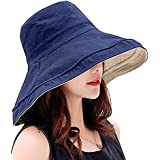 6d09c37c0001f9 UVカット 帽子 ハット レディース 日よけ帽子 紫外線対策 2way 両面使えるワイヤーを