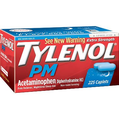 Tylenol PM Caplets - 225 ct. bottle ()