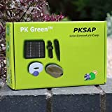 PK Green Solar Oxygenator Air Pump for Pond - 1.5W Aerator Oxygen Pump Kit 1 Stone for Garden, Aquarium, Fish Tank 120LPH