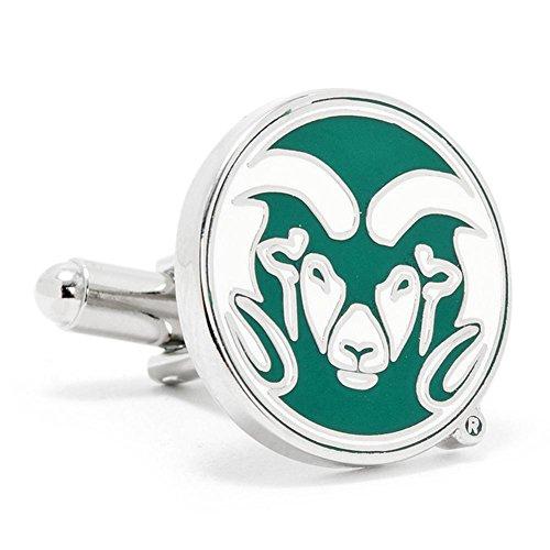 Colorado State University Rams Cufflinks Novelty 1 x 1in