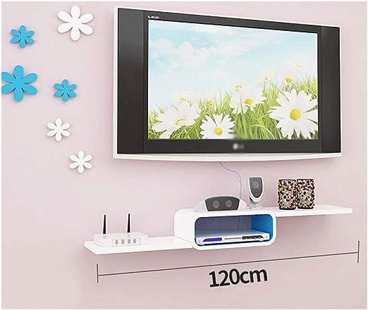 Mueble de TV con marco de pared flotante pequeño Soporte de TV para montaje en pared