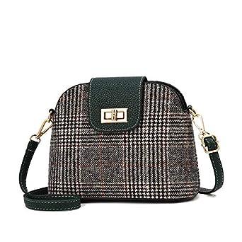 Amazon.com: New Arrival Shell Women Messenger Bags PU ...