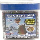 Lip Ripperz Garlic Crawler Hatchery Dust Prepared Fishing Bait, Brown