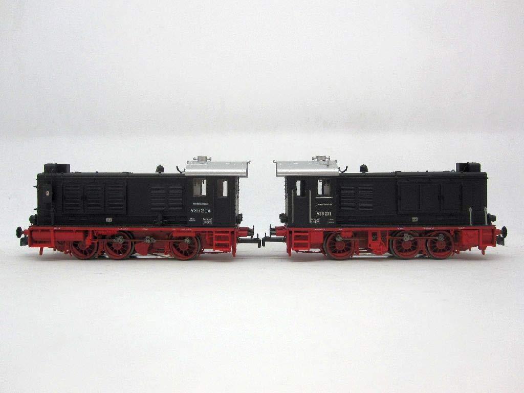 Brawa 41636 Diesellok V36 der DGEG (DB), 2er Set Doppeltes Lottchen