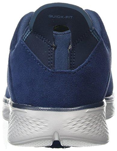 Walk Go Grey Donna 4 Allenatori Navy Skechers Blu Cf0wq5x57
