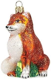 Unbekannt Fuchs Christbaumschmuck Weihnachten Glas Baumschmuck