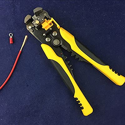 Cable Wire Stripper Cutter Crimper Automatic Multifunctional Terminal Crimping Stripping Plier