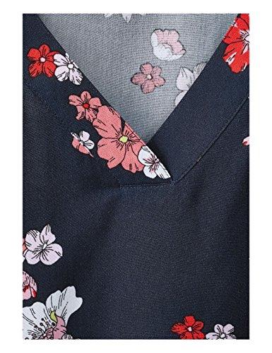 Street Blouse Blue Deep 31238 One Multicolore Femme TTrwR