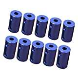 MagiDeal 10Pcs Flexible Shaft Coupling for CNC Motor Coupler Connector 5-5mm + 5-8mm