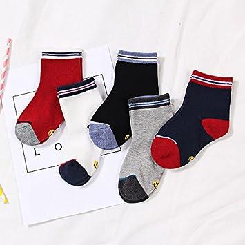 XIU*RONG Calcetines Infantiles Primavera Y Otoño Invierno Calcetines De Algodón Calcetines Medias Calcetines Calcetines