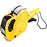 8 Digits Price Numerical Tag Gun Label Maker MX5500 EOS with Sticker Labels & Ink Refill for Office, Retail Shop, Grocery Store, Organization Marking by Super Z Outlet®
