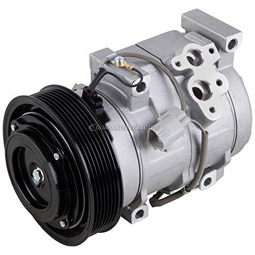 AC Compressor & A/C Clutch For Toyota Camry Highlander Solara 2.4L 4-cyl - BuyAutoParts 60-01592NA NEW ()
