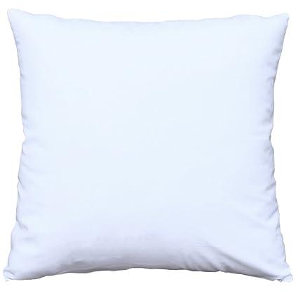 Amazon Mosong White Cotton Square Decorative Throw Pillow Case Magnificent Extra Long Decorative Lumbar Pillow