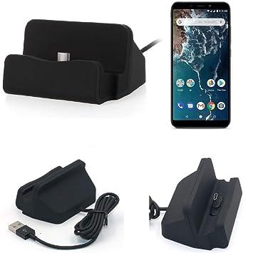 K-S-Trade Dock USB para el Xiaomi Mi A2, Negro | estación de ...