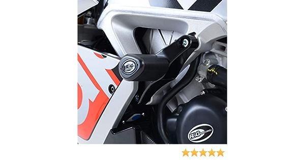 R/&G Aero Style Frame Slider For Aprilia RSV4 /'09-/'19 /& V4 Tuono /'16-/'18LHS