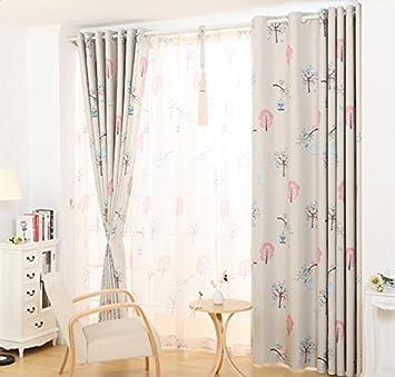 Amazon.de: Wohnzimmer Vorhänge Vorhänge im Schlafzimmer Haken ...