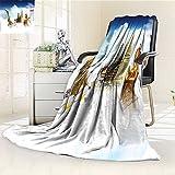 AmaPark Digital Printing Blanket Asian Meditation Icons Elements over Clouds Yoga Yin yang Om Gen Black White Summer Quilt Comforter