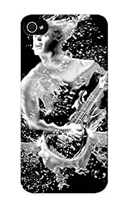 Crooningrose EsSyV0VKkUf Protective Case For Iphone 5/5s(guitarist Photo Image Woman ) - Nice Gift For Lovers