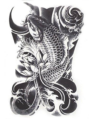 Hb 090 Tatuaje Flash Adhesivos Temporales En Blanco Y Negro