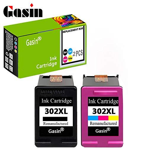GASIN Cartucho de tinta remanufacturado para HP 302 xl ...