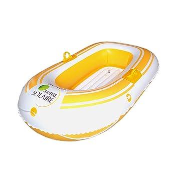 Sucastle Flotador Inflable para Piscina con Forma de Bote de remos,para Adultos niños Playa Fiestas de Piscina Juegos Decoraciones de salón terraza ...