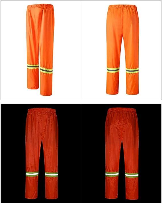 Abbigliamento da Lavoro igienico-Sanitario Ispessimento Adulto da Lavoro allaperto assicurazione da Lavoro Impermeabile SYRAINCOAT Impermeabile Riflettente Tuta Impermeabile da Pioggia