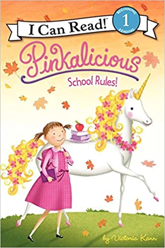 pinkalicious school rules i can read level 1 victoria kann