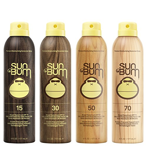 511yFWj6eOL - Sun Bum Original Moisturizing Sunscreen Spray SPF 15 | Reef Friendly Broad Spectrum UVA / UVB | Water Resistant Continuous Spray with Oil-Free Protection | Hypoallergenic, Paraben Free, Gluten Free | SPF 15 6oz Bottle