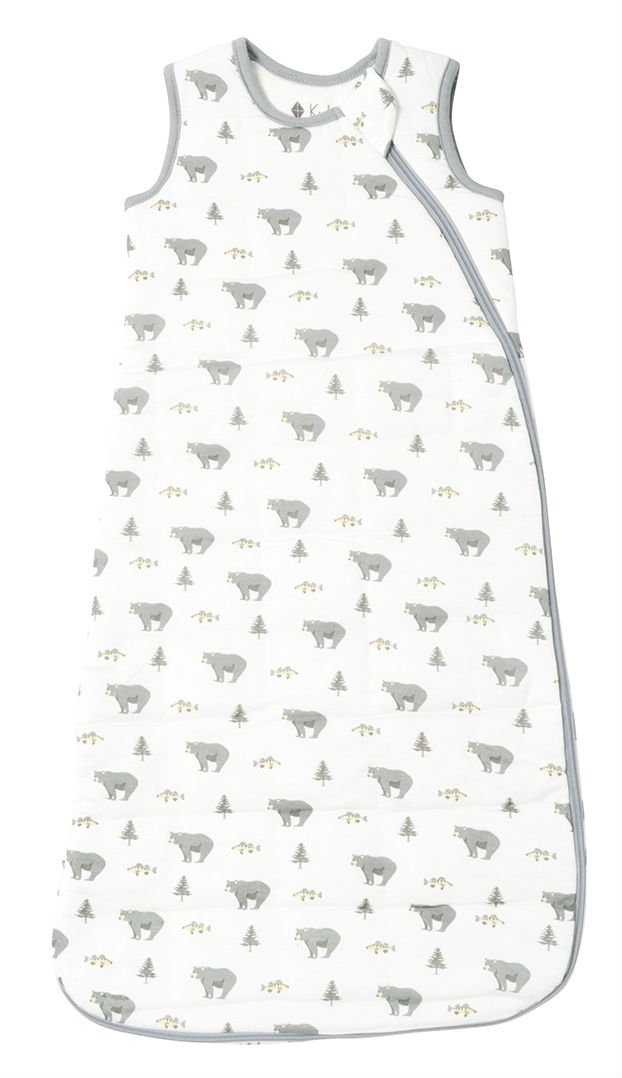 Kyte BABY Printed Sleeping Bag for Toddlers 0-36 Months: 2.5 tog - Made of Soft Bamboo Material (6-18 Months, Creek)