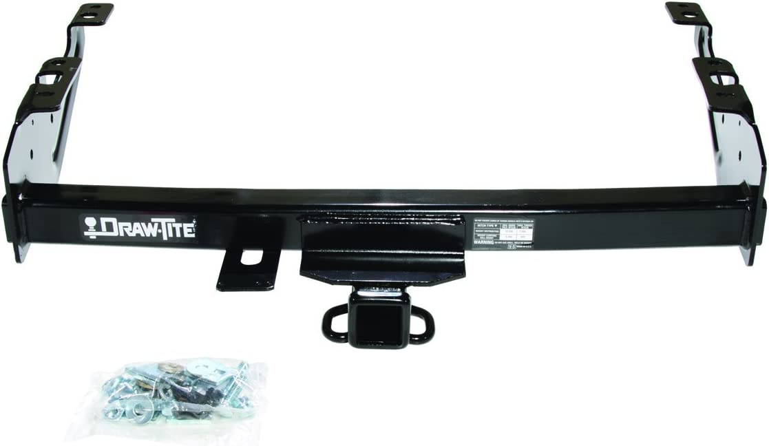 DRAW TITE 41528 Max-E Loader Hitch with 2 Square Receiver Tube Opening Draw-Tite