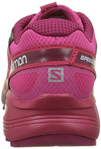Morado pink Mujer fucsia Speedcross Calzado 2 Red cerise Trail Yarrow Para Running Gtx De Salomon Vario beet vPzqdxnZZ