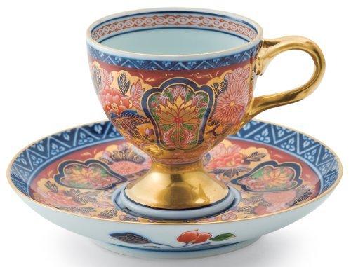 Imari Coffee Saucer (Old Imari Kinsai 3inch Coffe Cup & Saucer Porcelain)