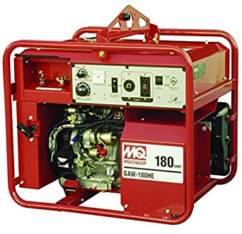 Multiquip GAW180HEA Gasoline Powered Welder/Generator with Honda Motor, 3000 WATT, 50-
