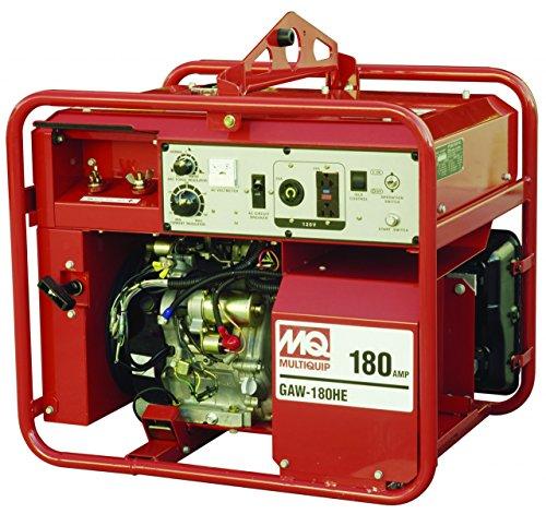 Multiquip GAW180HEA Gasoline derived Welder/Generator because of Honda Motor, 3000 WATT, 50-180 Amps Cheap For Now