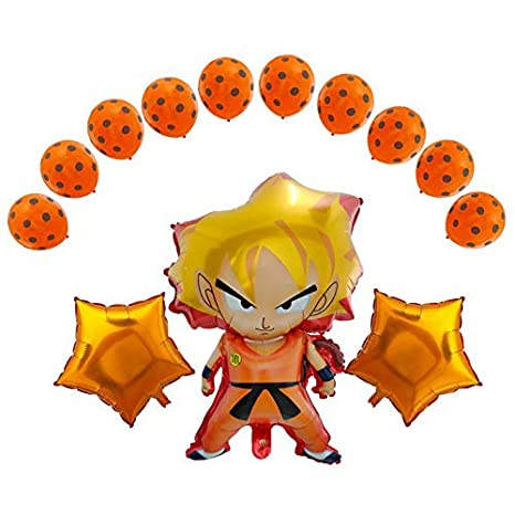 Image Unavailable Not Available For Color Dragon Ball Z Balloons 13 Pack Birthday Celebration