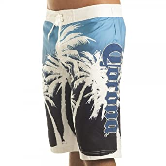 1b5f2c0b0f Corona Palm Men's Blue Boardshorts - SMALL Corona