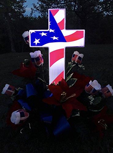 Solar Memorial Cross - 2