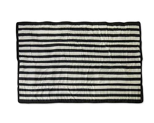 Little Unicorn 5x7 Outdoor Blanket - Black & White