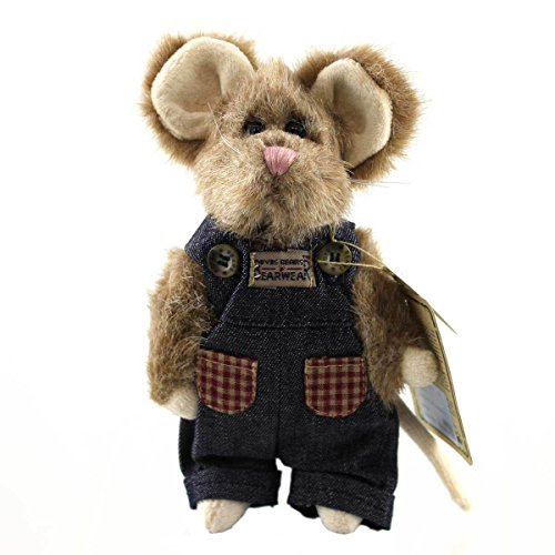 Boyds Bears Plush SHARP MCNIBBLE 91674 Mouse Archive Americana