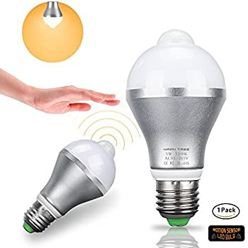 Motion Sensor Light Bulb Haimi Tree 5w E26 E27 Smart Pir
