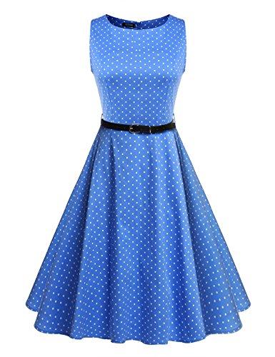 ACEVOG-Womens-1950s-Retro-Vintage-Sleeveless-Party-Swing-Dress-with-Belt