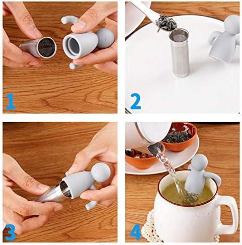 Emartgear - Silicone Tea Strainer