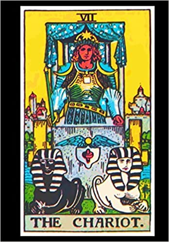 Chariot Tarot Card Visionary Journal: Mojo: 9781718982802